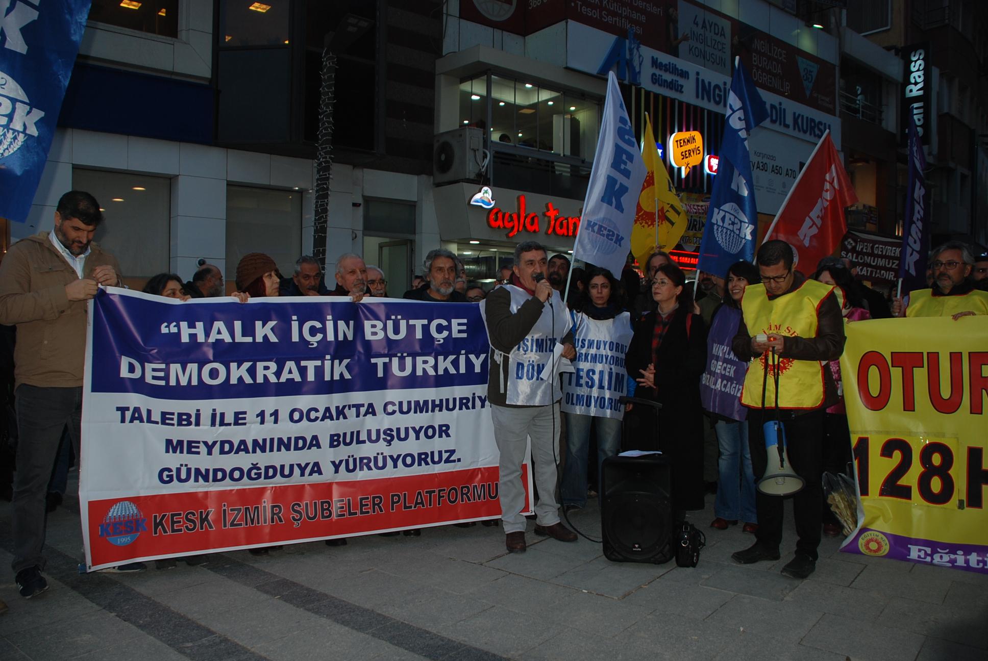 KESK İzmir Şubeler Platformumuzdan 11 Ocak Mitingimize Çağrı!